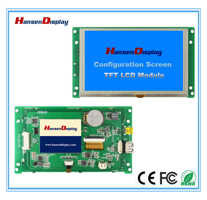 5.0 Inch Civil Application Series TFT LCD Module