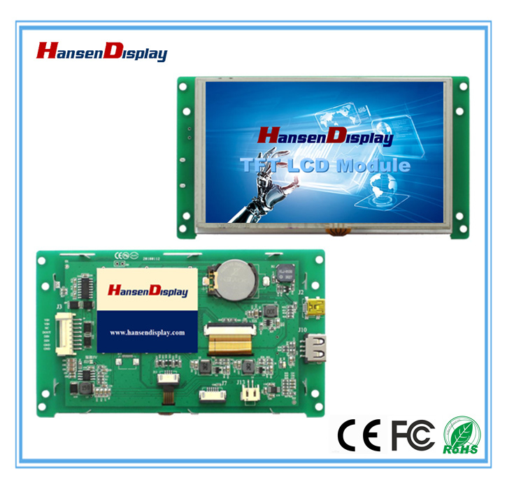 5.0 Inch Industry Application Series TFT LCD Module